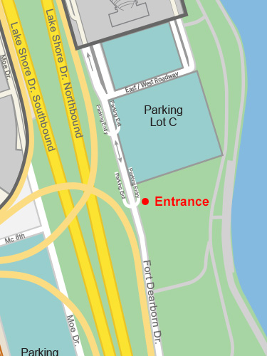 Parking Lot C Entrance